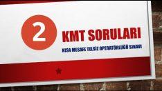 KMT Sınav Soruları ve Cevapları 2