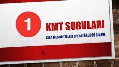 KMT Sınav Soruları ve Cevapları
