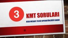 KMT Sınav Soruları ve Cevapları 3