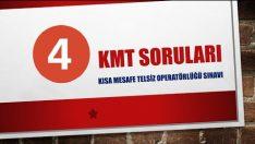 KMT Sınav Soruları ve Cevapları 4